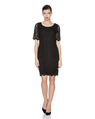 Yumi Abito The Classic Lace Shift [Nero]