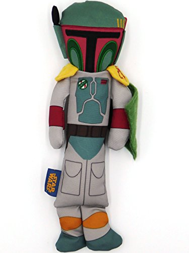 "STAR WARS Boba Fett Stick Dog Toy, 12"" Length"