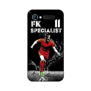 ezyPRNT Back Skin Sticker for Intex Aqua Y2 Pro Gareth Bale 'fk specialist' Football Player