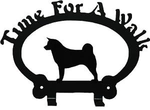 Dog Leash Hook - Akita (Time for a Walk)