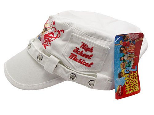 White High School Musical Painter's Cap Hat