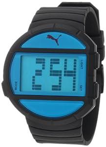 "PUMA Men's PU910891001 ""Half-Time"" Sport Watch with Black Plastic Band"