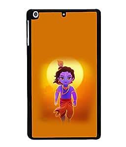 printtech Lord God Krishna Small Cartoon Back Case Cover for Apple iPad Mini 3