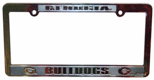NCAA Georgia Bulldogs Car Tag Frame (Bulldog Tag compare prices)