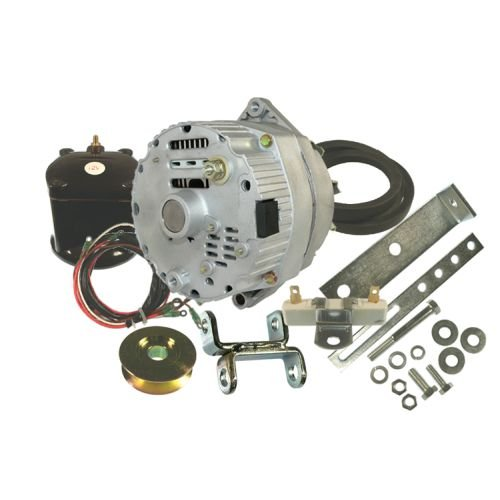 ford early 8n 2n 9n one wire alternator conversion kit