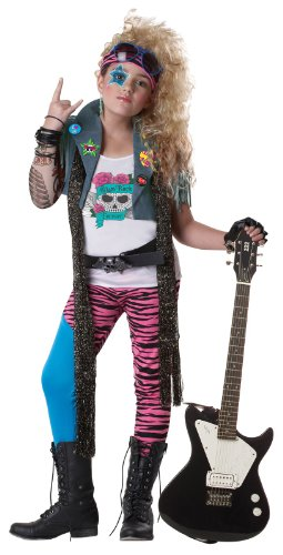 Calif (Glam Rocker Child Costumes)