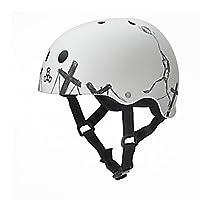 Triple 8 Balloon Robot Special Edition Helmet (White, Medium)