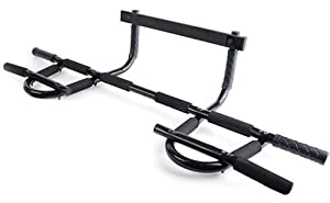 Heavy Duty Gym Doorway Chin-up Pull-up Bar - Extreme Workout - With NEW Door Frame protection FEATURE