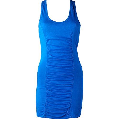 Fox Racing Samba Girls Casual Dress - Color: Royal Blue, Size: X-Small
