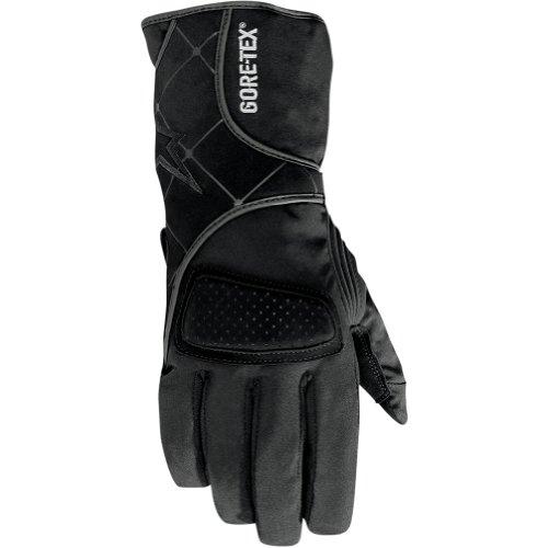 Alpinestars Stella WR-3 Gore-Tex Women's Waterproof Sports Bike Racing Motorcycle Gloves - Black / X-Small