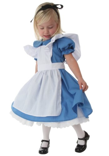 Little Girls' Deluxe Toddler Alice Costume