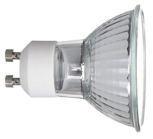 luxrite lr20490 6 pack 35w gu10 120v 35 watt mr16 halogen light bulb glass cover dimmable. Black Bedroom Furniture Sets. Home Design Ideas