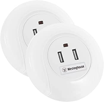 2-Pack Westinghouse LED Night Light with Sensor