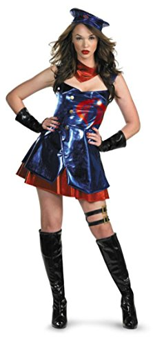 Disguise Womens Cobra Commander G I Joe Theme Party Fancy Halloween Costume