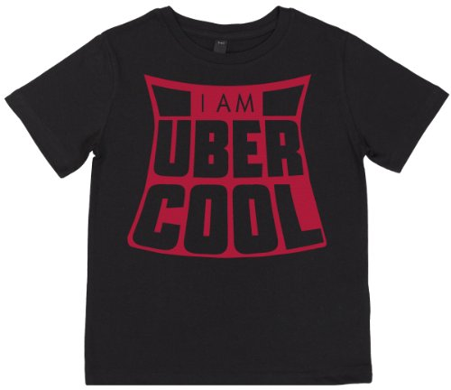 Phunky Buddha - The Uber Cool Children'S Top 5-6 Yrs - Black front-746079