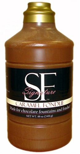 SF Signature Caramel Fondue, Made for Chocolate Fountains and Fondue!, 132-Ounce Can