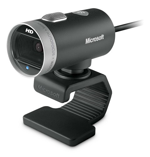 Microsoft LifeCam Cinema 720p HD Webcam – Black