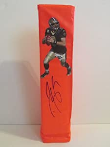 Drew Brees Autographed Signed Custom New Orleans Saints Photo Full Size Logo Football...