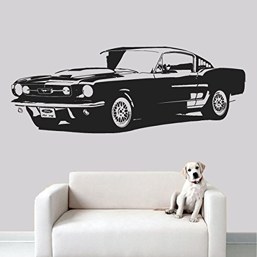 Wall Decal Vinyl Sticker Decals Art Decor Design Car Retro Old Collection Automobile Vintage Moto Boys Mans Living Room Nursery Gift (R549) front-713503