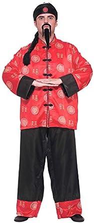 Forum Novelties Men's Chinese Gentleman Costume, Multi, One Size