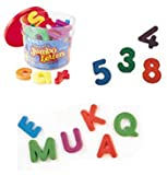 Learning Resources Jumbo Magnetic Letters and Numbers Combo (Set of 116)