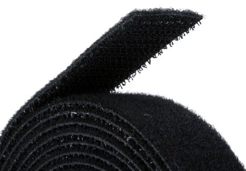 Monoprice Hook & Loop Fastening Tape 5 yard/roll, 0.75-inch - Black (105828) (Double Sided Velcro Strips compare prices)