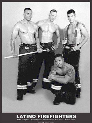 フォトポスター D.C. LaRue: Latino Firefighters