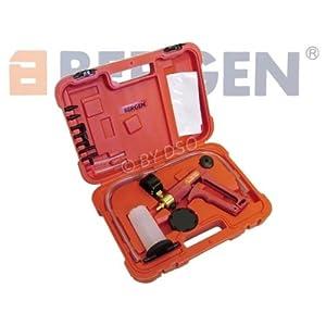 BERGEN Professional Trade Quality Hand Held Vacuum Tester and Pump Brake Bleeder Kit Cars Motorcycles BER5202