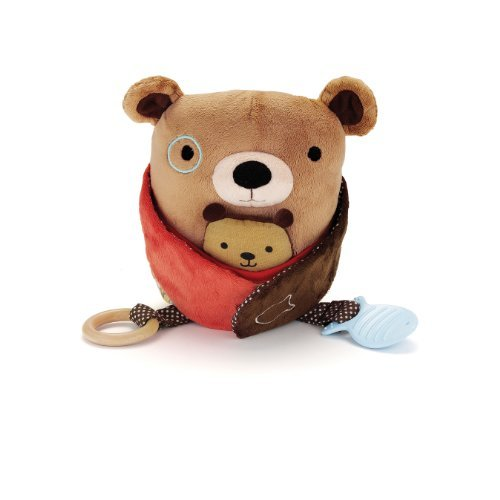Skip Hop Hug And Hide Activity Toy, Bear Color: Bear Toy, Kids, Play, Children front-738788