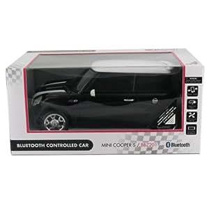 BEEWI BBZ201-A0 BT Mini Cooper Bluetooth gesteuertes Auto 3 x AA Batterien ueber Mobiltelefone mit Symbian3, Android V2.1 + 2.2