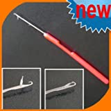 4 Latch Hook Crochet Needles/microneedle for Hair Extension, feather and Dread Maintenance Installation