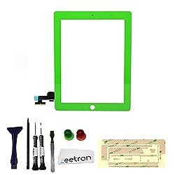 Zeetron Ipad Premium Color Swap Color Conversion Repair Replacement Kit (iPad 2, Green)