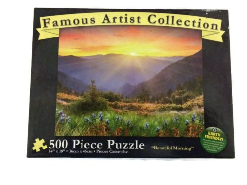 "Famous Artist Collection ""Beautiful Morning"" - 500 Piece Puzzle - 1"