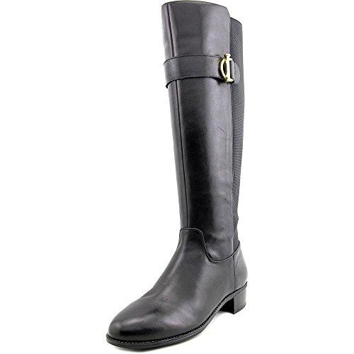 isaac-mizrahi-senso-damen-us-7-schwarz-mode-knie-hoch-stiefel