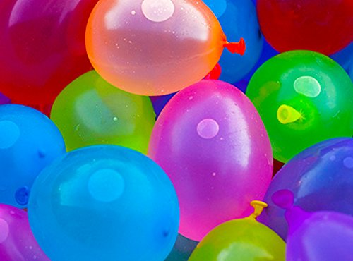 Mylife (Tm) Multi Colored - Flexible Latex Rubber (100 Count Pack - Standard Size) Water Bomb Grenade Balloons (Great For Summer Bbqs) front-230942