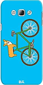 galaxy a8 back case cover ,Biking Corgi Designer galaxy a8 hard back case cover. Slim light weight polycarbonate case with [ 3 Years WARRANTY ] Protects from scratch and Bumps & Drops.