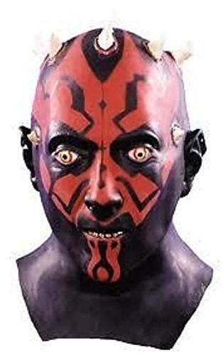 Popcandy Star Wars Darth Maul Adult Latex Mask Don Post (Darth Maul Face Paint)