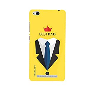 iSweven Red3s_1306 Printed high Quality You_are_the_Best_Dad Design Back case cover for Xiaomi Redmi 3s