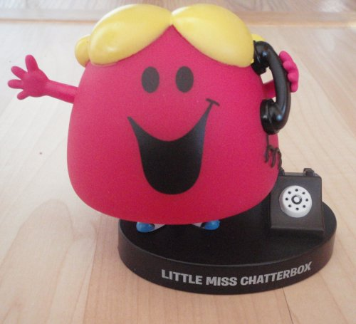 Buy Low Price Jakks Pacific Mr. Men Little Miss – Little Miss Chatterbox Figure (B001QGIG26)