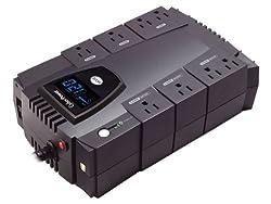 CyberPower CP600LCD Intelligent LCD 600VA 340W Desktop UPS