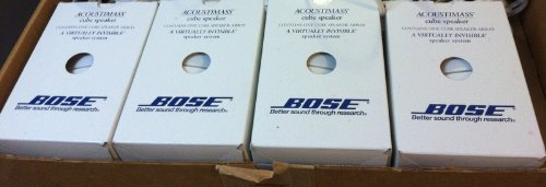 Bose Acoustimass Direct/Reflecting Speaker White