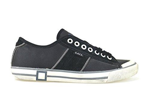 scarpe donna D.A.T.E. ( date ) sneakers nero pelle camoscio AJ115 (36 EU)