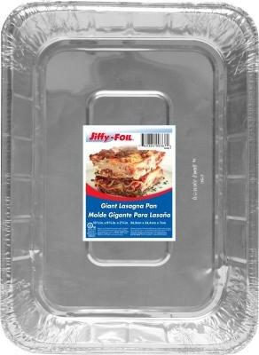 Jiffy Giant Lasagna Pan (Pack of 15)