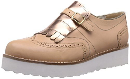 Virus 25702, Scarpe  da  donna, Beige (Beige (Burnish Boston/Mirror 1-0850/Charme 1-0850)), 35