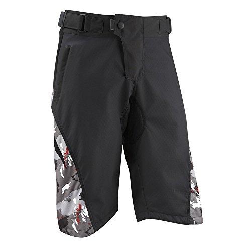 Mens Burn MTB Shorts - Black/Camo - Med