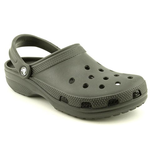 Crocs Mens Classic Clogs - Black 8