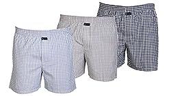 Careus Men's Cotton Boxers (Pack of 3)(13_15_17_Multi-coloured_Large)