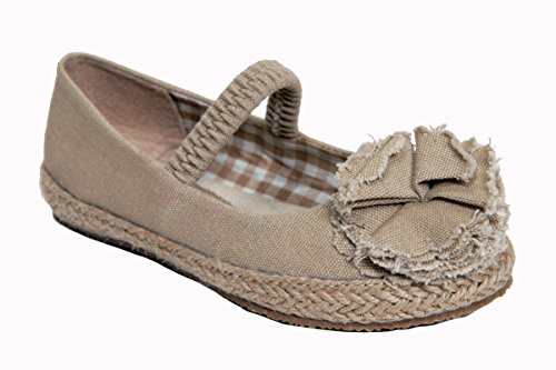 Launch Baby Girls Lulu Flat Size:6 Toddler Beige front-39268