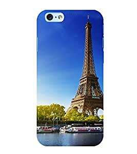 printtech Paris Tower Monument Back Case Cover for Apple iPhone 6 Plus
