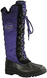 Coach Libby Signature Cold Weather Women Boots UV Purple Black